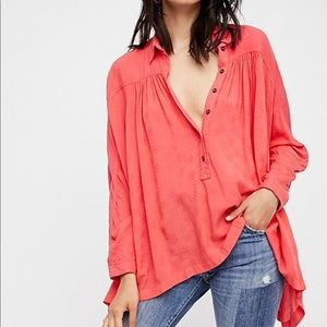 Free people lovely day blouse
